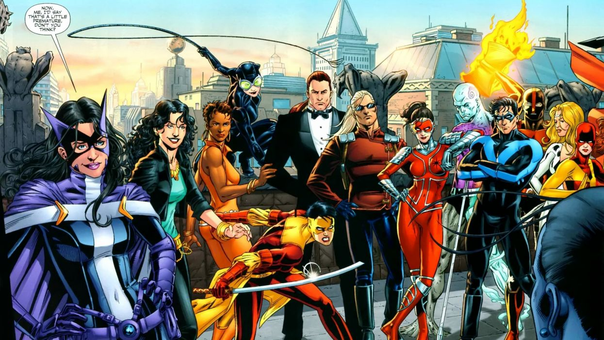 Birds Of Prey DC-COMICS superhero hero warrior d-c comics (29) wallpaper
