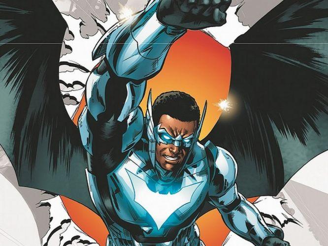 DC-COMICS superhero hero warrior d-c comics batwing gh wallpaper
