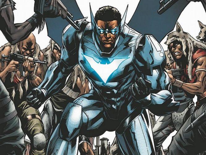 DC-COMICS superhero hero warrior d-c comics batwing y wallpaper