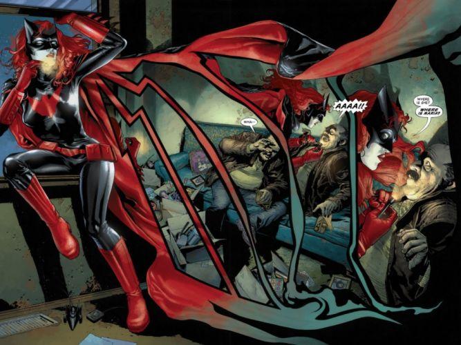 DC-COMICS superhero hero warrior d-c comics Batwoman (1) wallpaper