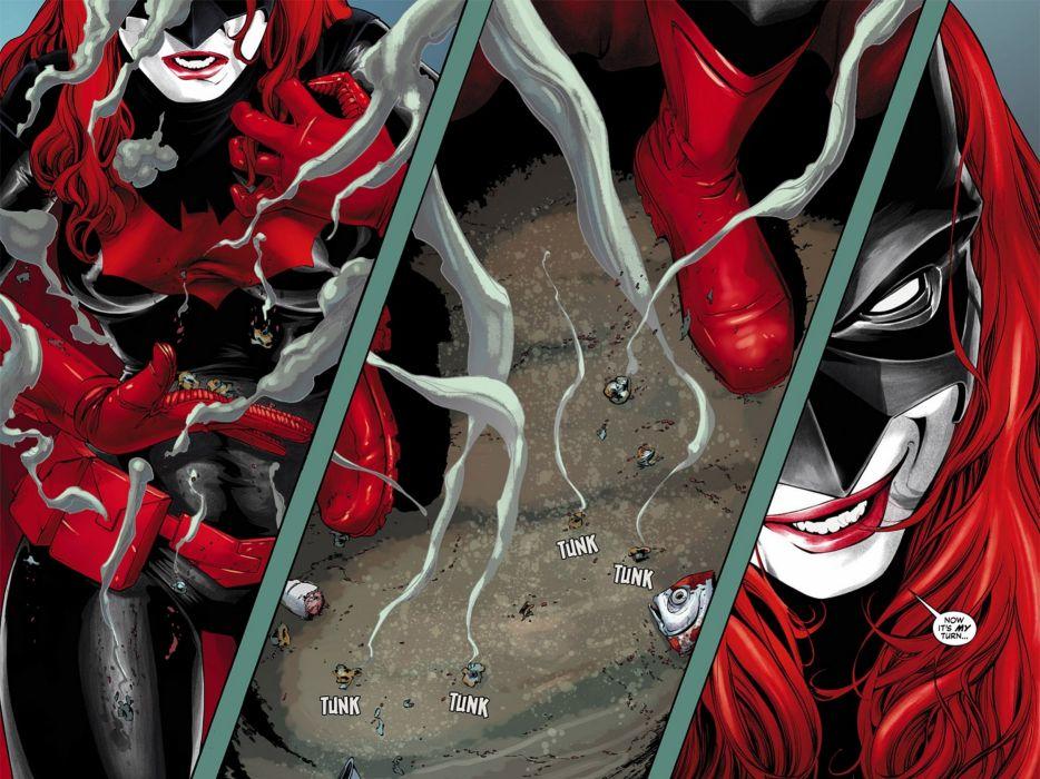 DC-COMICS superhero hero warrior d-c comics Batwoman (3) wallpaper