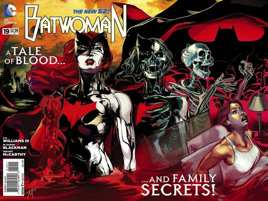 DC-COMICS superhero hero warrior d-c comics Batwoman (6) wallpaper