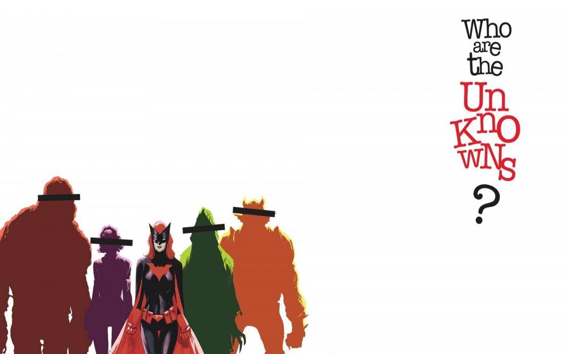 DC-COMICS superhero hero warrior d-c comics Batwoman (39) wallpaper