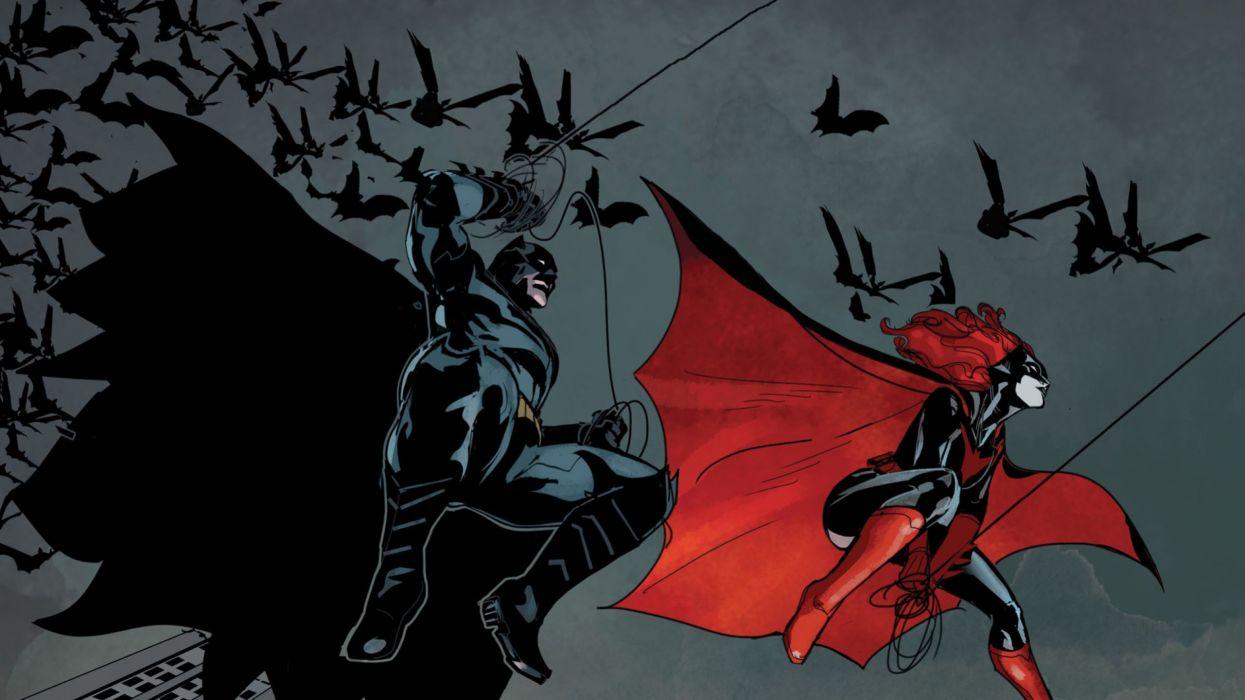 DC-COMICS superhero hero warrior d-c comics Batwoman (42) wallpaper