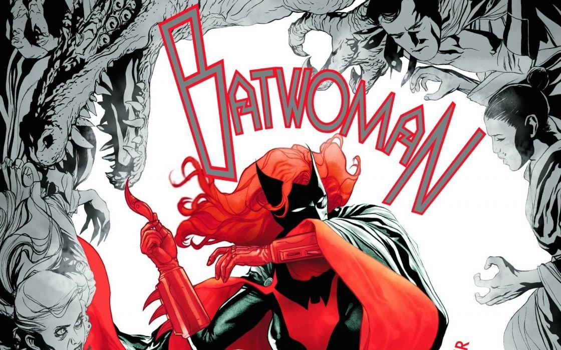 DC-COMICS superhero hero warrior d-c comics Batwoman (47) wallpaper