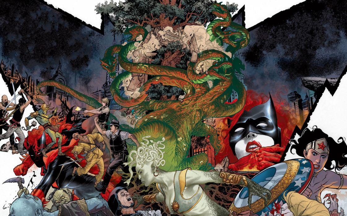 DC-COMICS superhero hero warrior d-c comics Batwoman (29) wallpaper