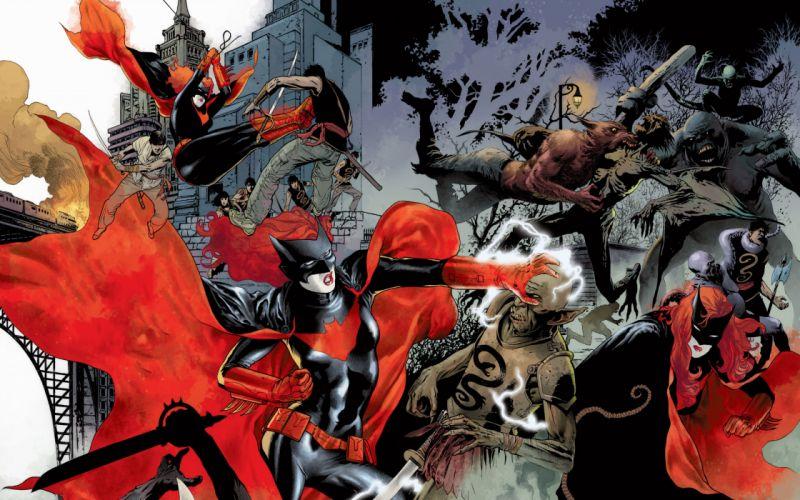 DC-COMICS superhero hero warrior d-c comics Batwoman (44) wallpaper