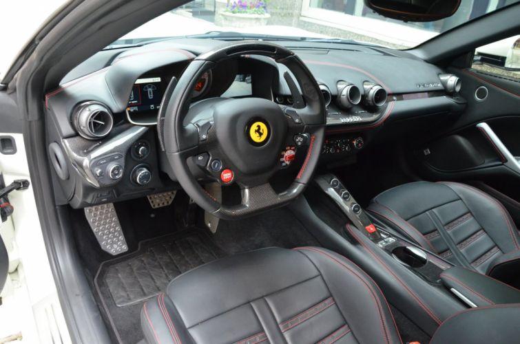 2014 Ferrari F12 berlinetta cars BIANCO AVUS wallpaper