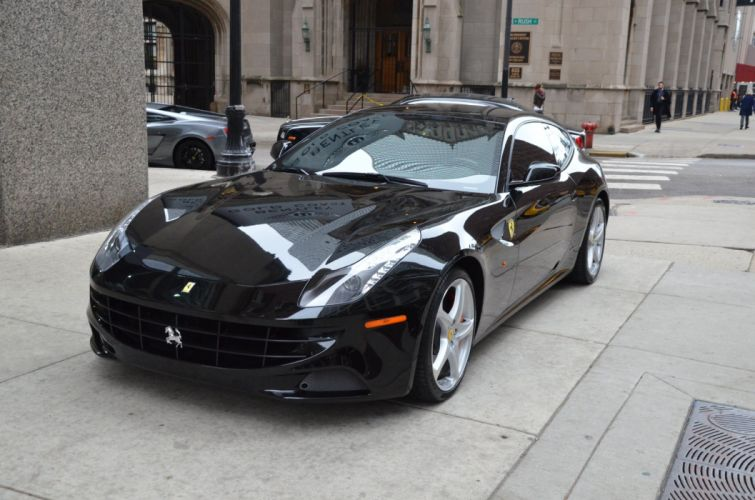 2013 Ferrari-ff cars NERO bkack wallpaper