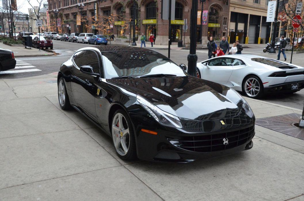 2013 Ferrari-ff cars NERO bkack wallpaper
