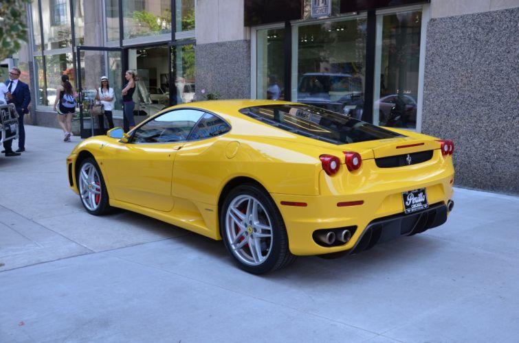 2006 Ferrari F430 coupe cars GIALLO MODENA wallpaper