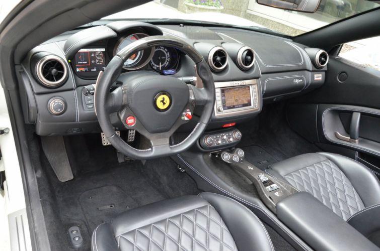 2012 Ferrari California convertible cars BIANCO AVUS wallpaper