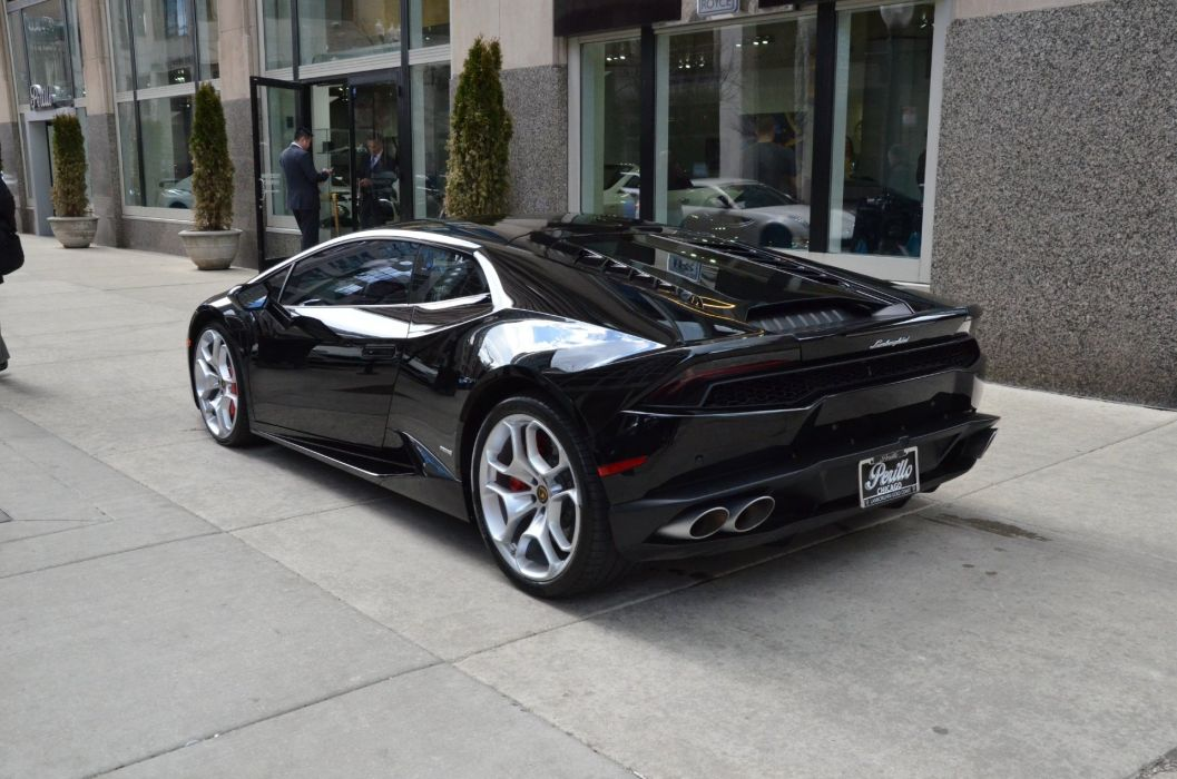 2015 Lamborghini Huracan Lp610 4 Coupe Cars Nero Noctis
