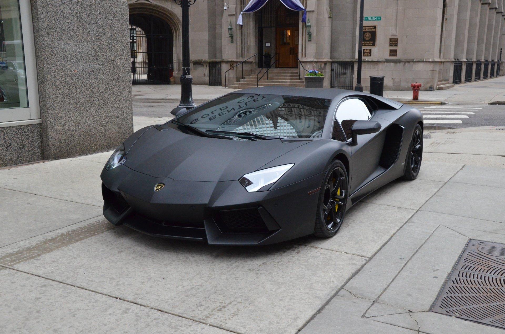 2012 lamborghini aventador coupe cars nero pegaso black matt wallpaper 1920x1272 759815 wallpaperup - Lamborghini Aventador 2015 Black