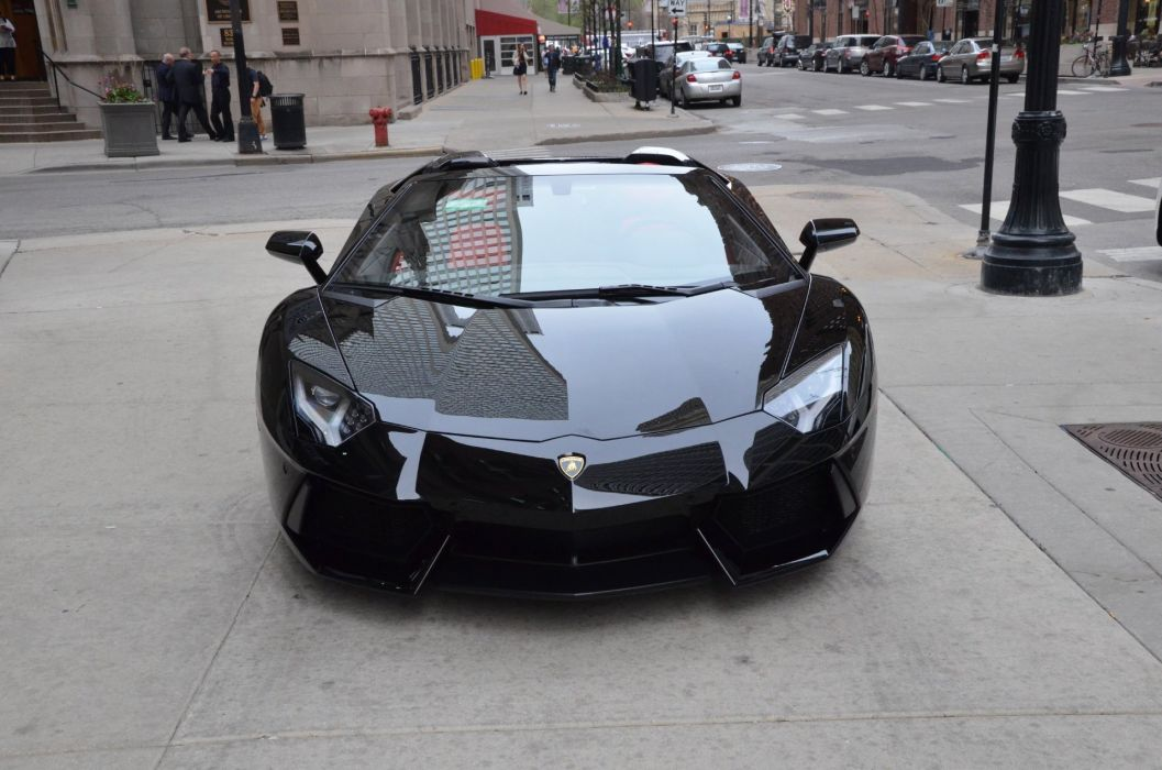 Aventador >> 2014 Lamborghini Aventador Roadster cars NERO PEGASO METALLIC black wallpaper | 1920x1272 ...