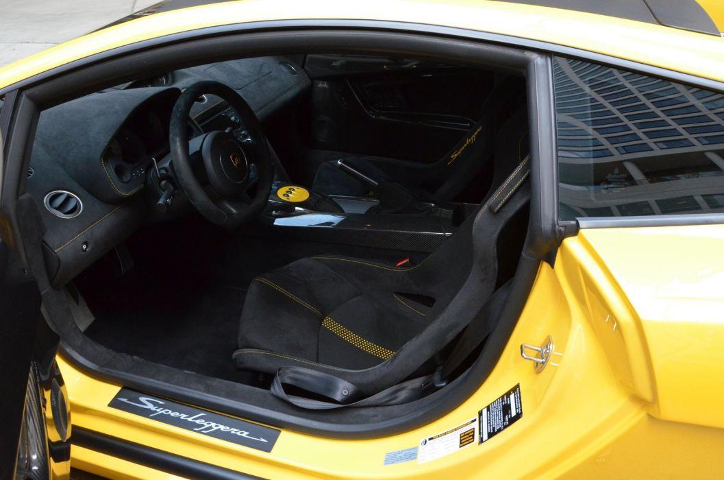2011 LAMBORGHINI GALLARDO LP570-4 SUPERLEGGERA cars GIALLO MIDAS YELLOW wallpaper