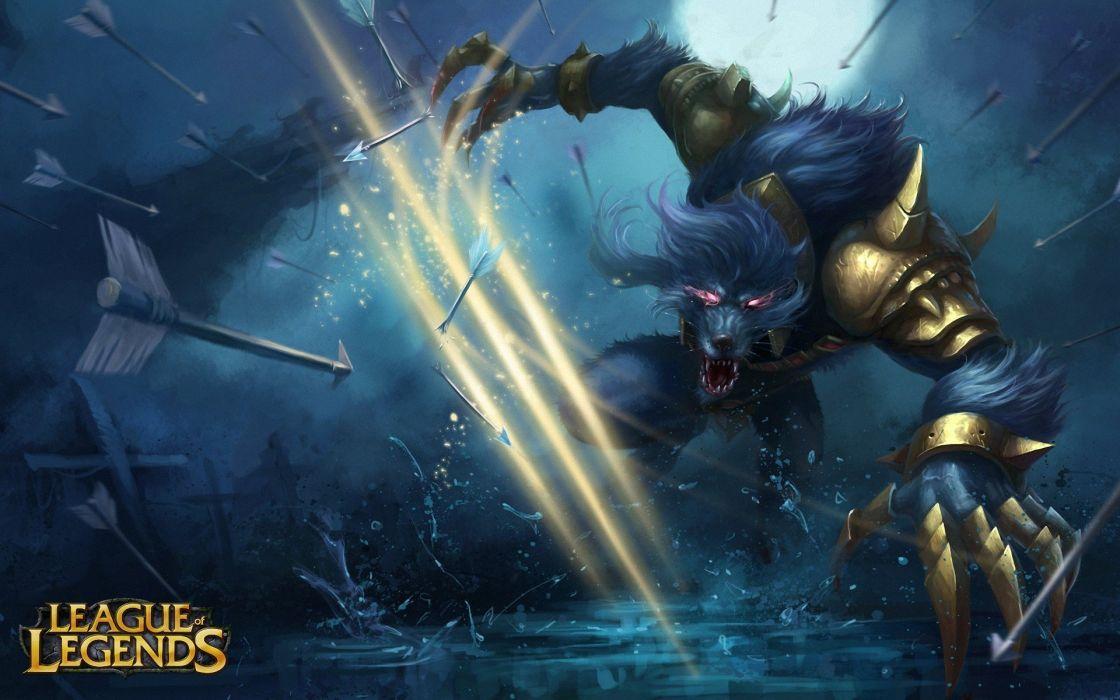 league of legend video juego belico wallpaper