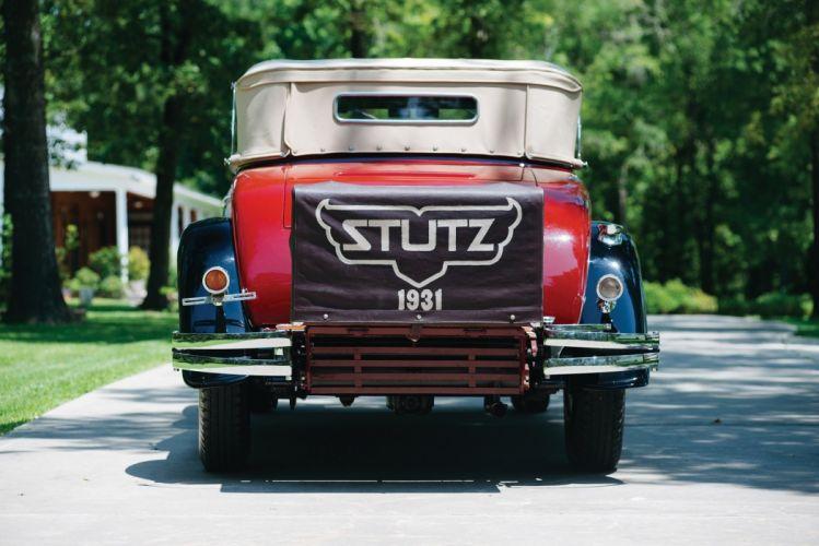 1931 Stutz Mode-MB SV16 Convertible Coupe Derham classic cars wallpaper