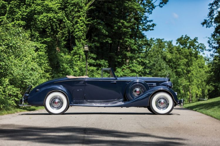1936 Packard Twelve Coupe Roadster classic cars wallpaper