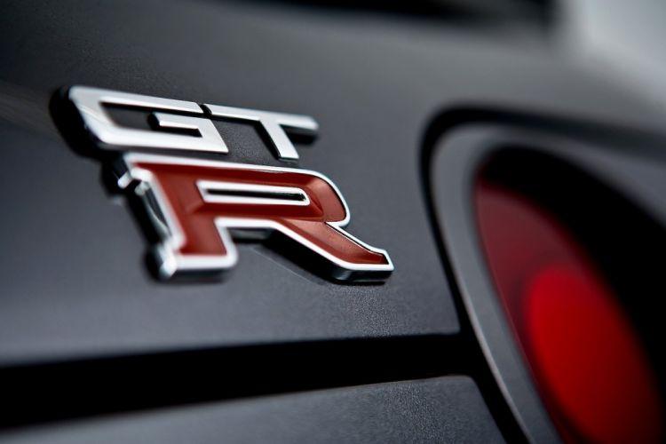 Nissan GT-R back logo Wallpaper wallpaper