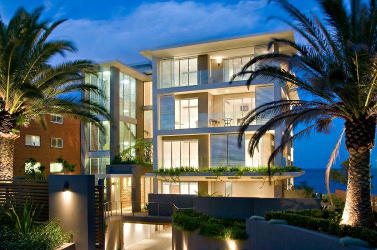 apartment condo interior design house building architecture swimming pool wallpaper
