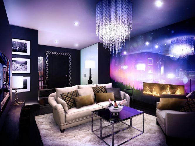 apartment condo interior design house building architecture wallpaper