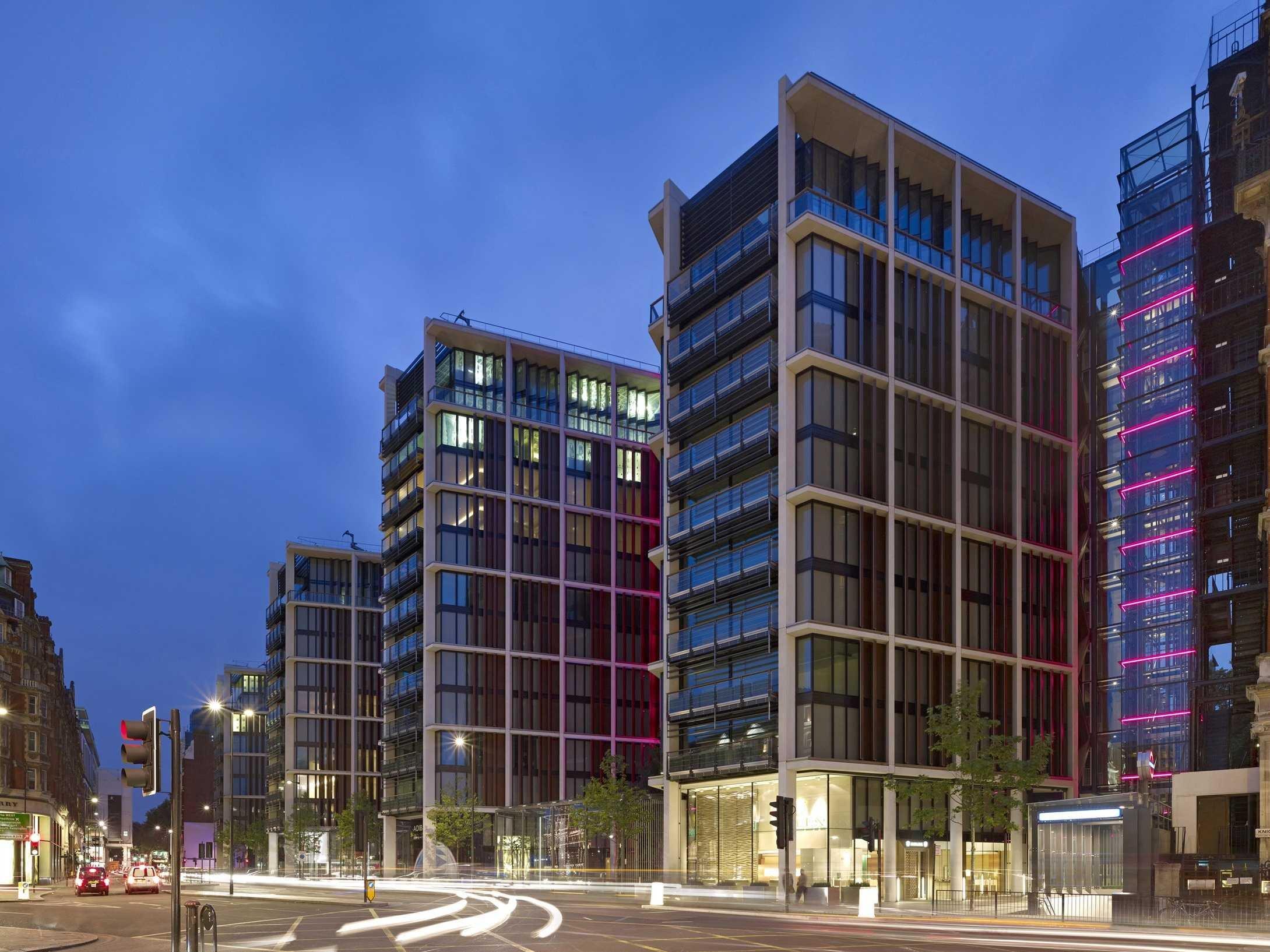 Apartment Building Design Architecture