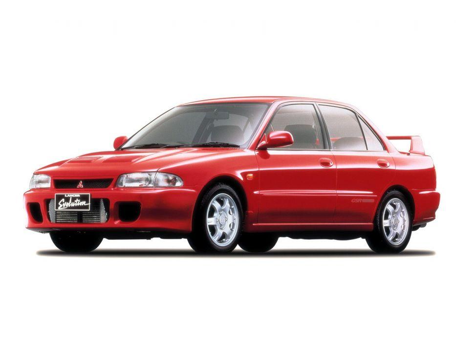 Mitsubishi Lancer evo I cars 1992 wallpaper