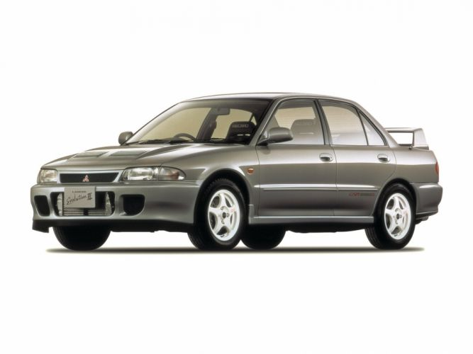 Mitsubishi Lancer evo II cars 1994 wallpaper