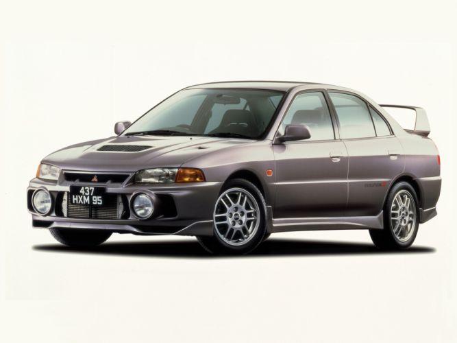 Mitsubishi Lancer evo VI cars 1996 wallpaper