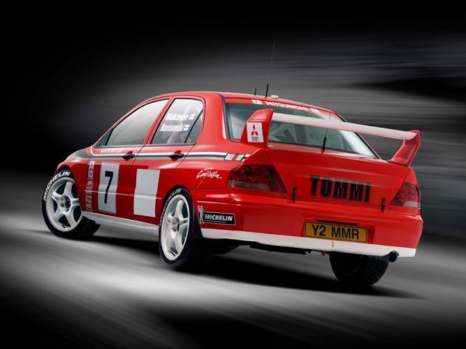 Mitsubishi Lancer Evo Vii Wrc Rally Cars 2001 Wallpaper