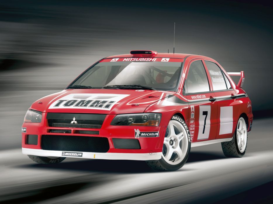 Mitsubishi Lancer evo VII WRC rally cars 2001 wallpaper | 2048x1536 ...
