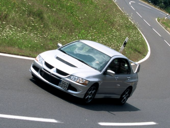 Mitsubishi Lancer evo VIII cars 2003 wallpaper