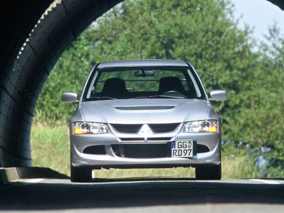 Mitsubishi Lancer evo VIII cars 2003 wallpaper