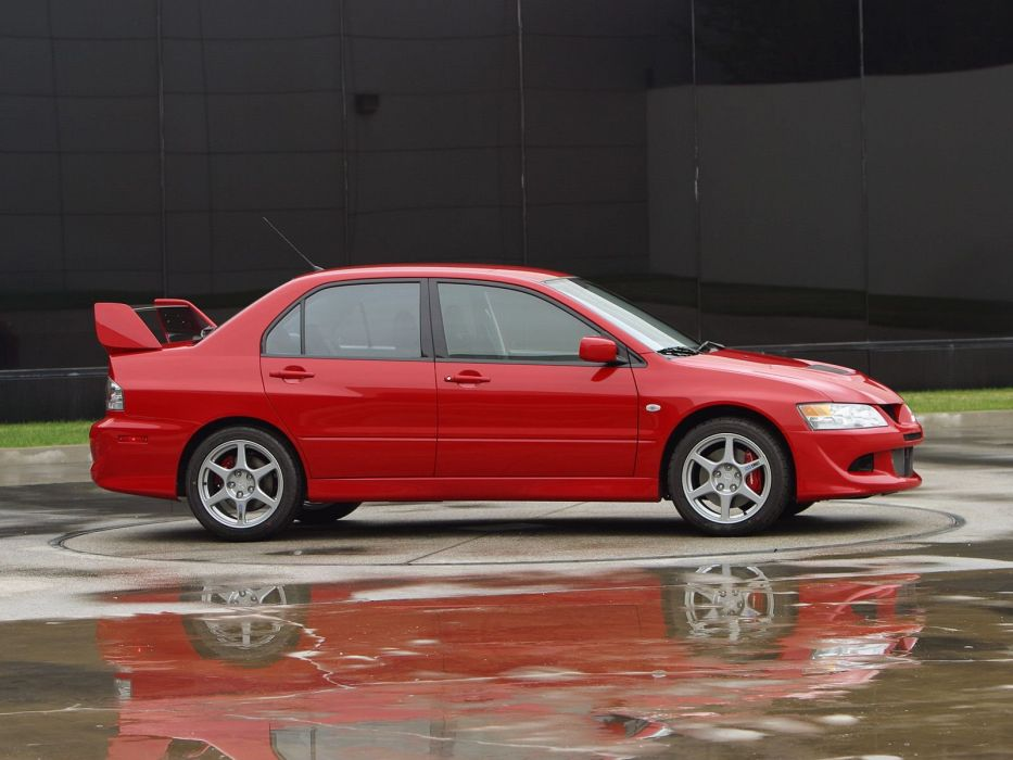 Mitsubishi Lancer evo VIII US-spec cars 2003 wallpaper
