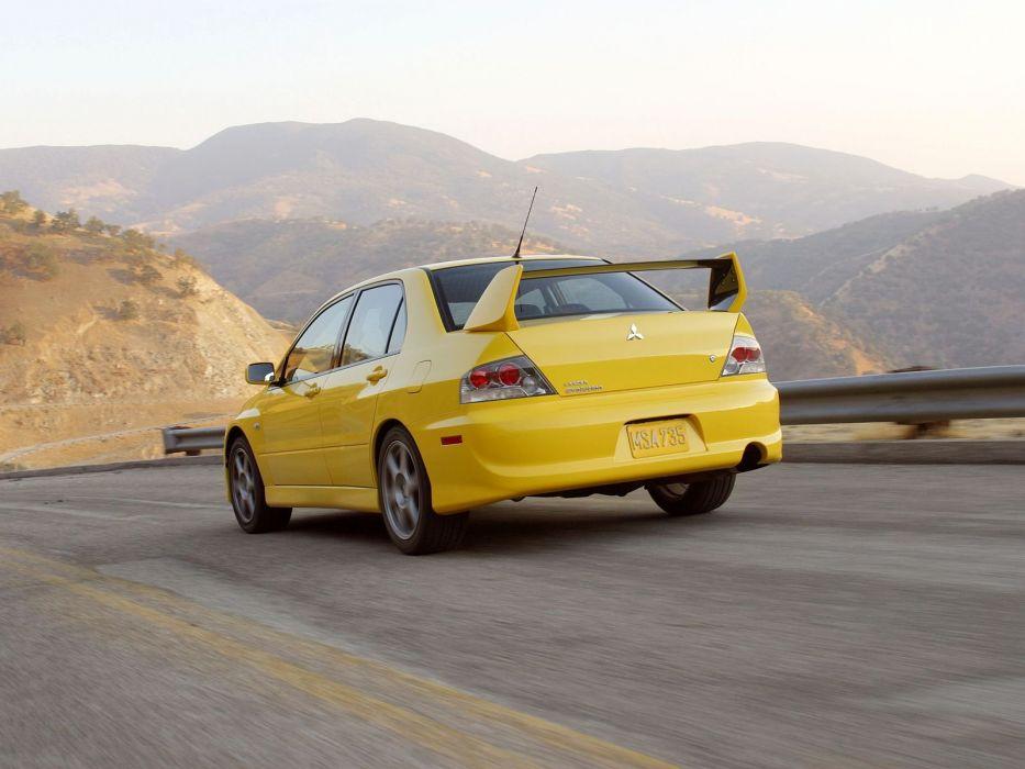 Mitsubishi Lancer evo VIII US-spec cars 2003 wallpaper