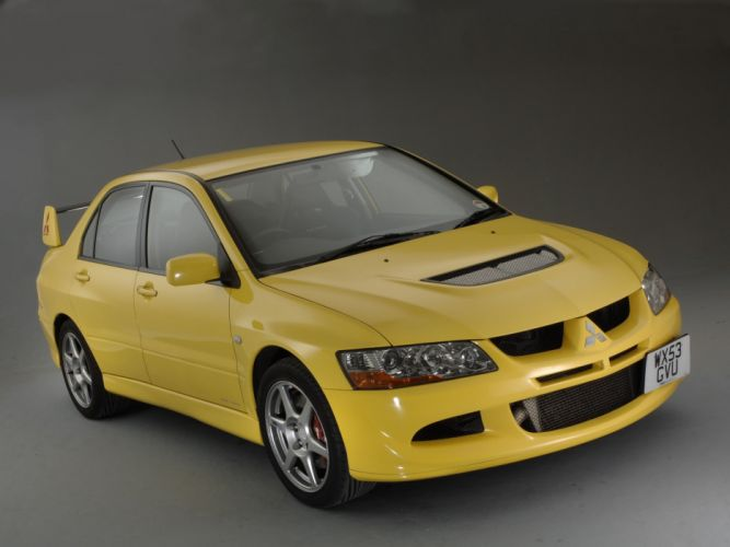 Mitsubishi Lancer evo VIII cars 2004 wallpaper