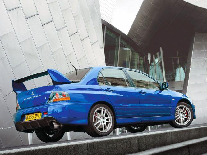 Mitsubishi Lancer evo IX cars 2006 wallpaper
