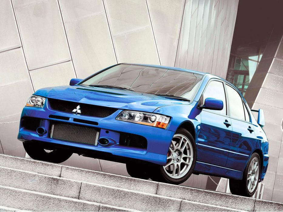 Mitsubishi Lancer evo IX cars 2006 wallpaper