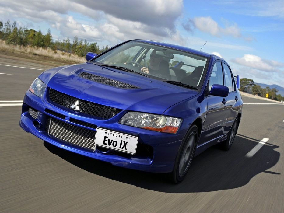 Mitsubishi Lancer evo IX AU-spec cars 2006 wallpaper