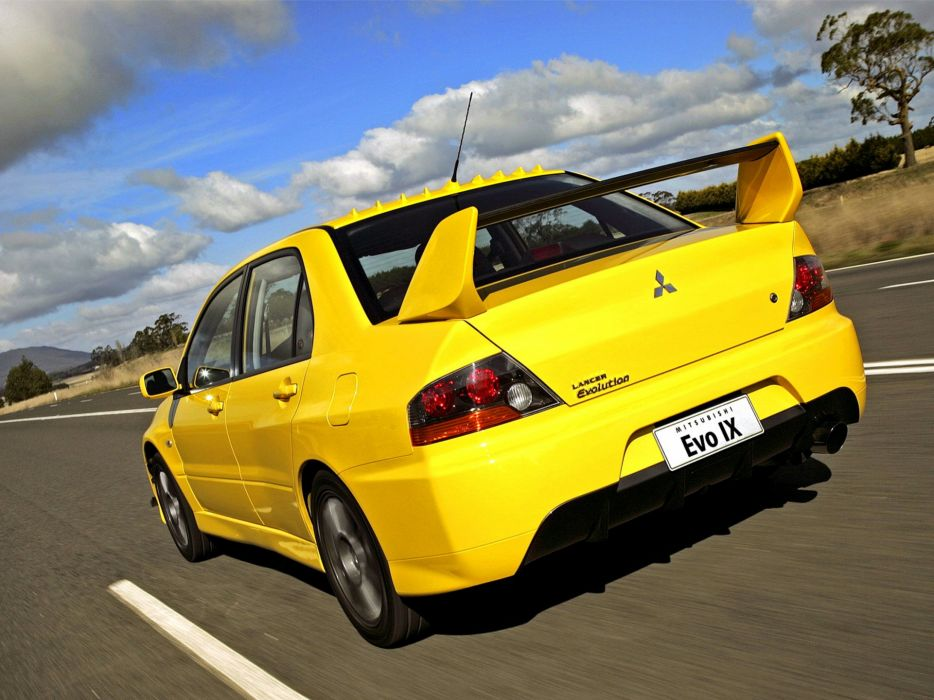 Mitsubishi Lancer evo IX AU-spec cars 2006 wallpaper