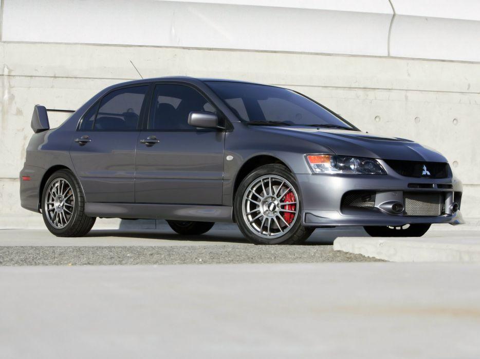 Mitsubishi Lancer evo IX-se US-spec cars 2006 wallpaper