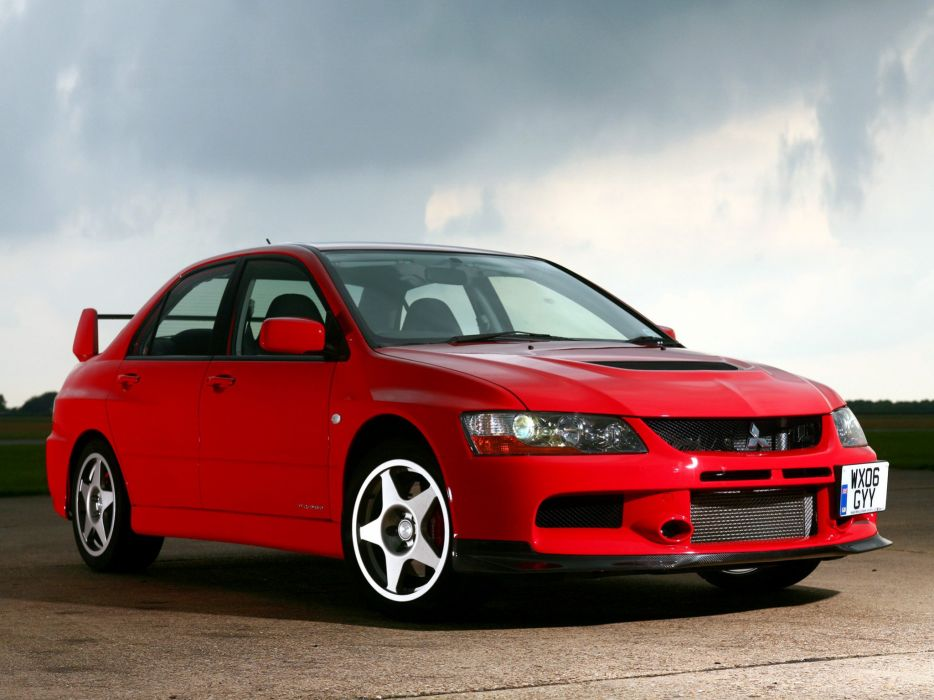 Mitsubishi Lancer evo IX cars 2008 wallpaper