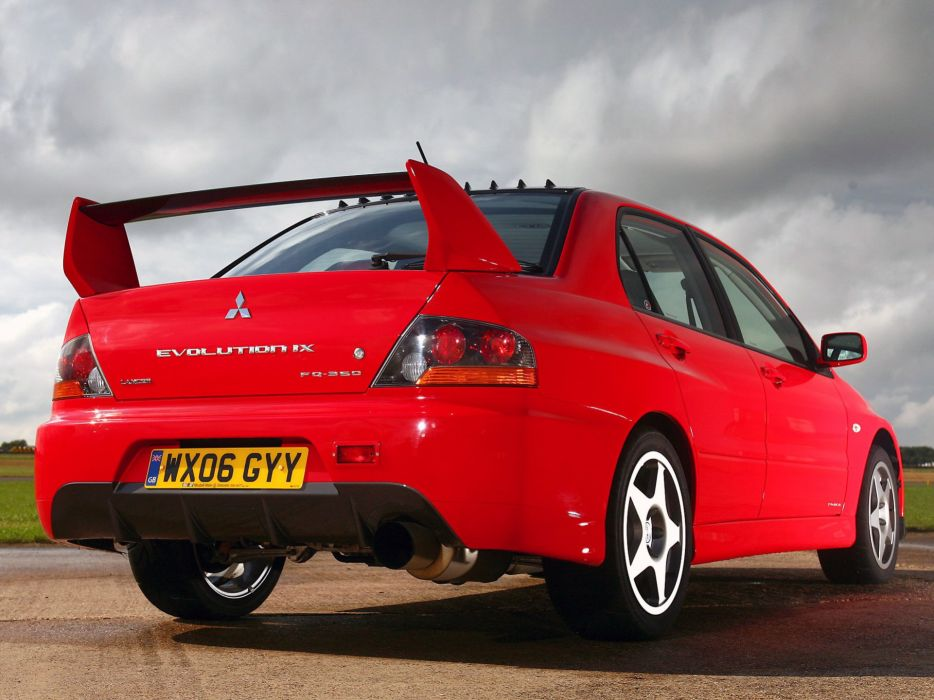 Mitsubishi Lancer evo IX cars 2008 wallpaper