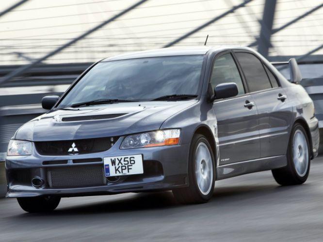 Mitsubishi Lancer evo IX-mr cars 2008 wallpaper