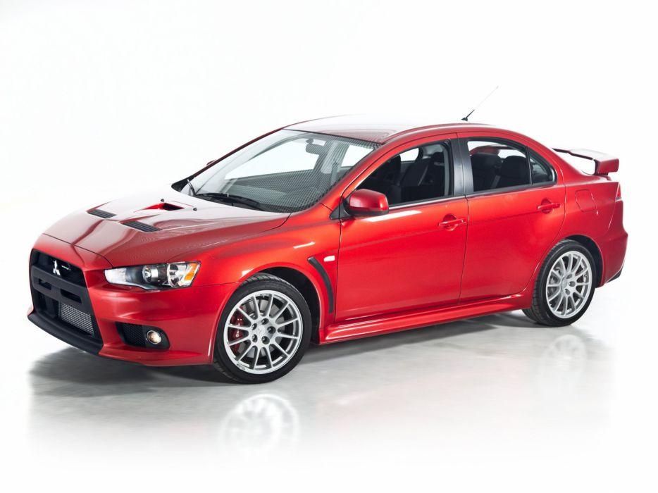 Mitsubishi Lancer evo gsr US-spec cars 2008 wallpaper