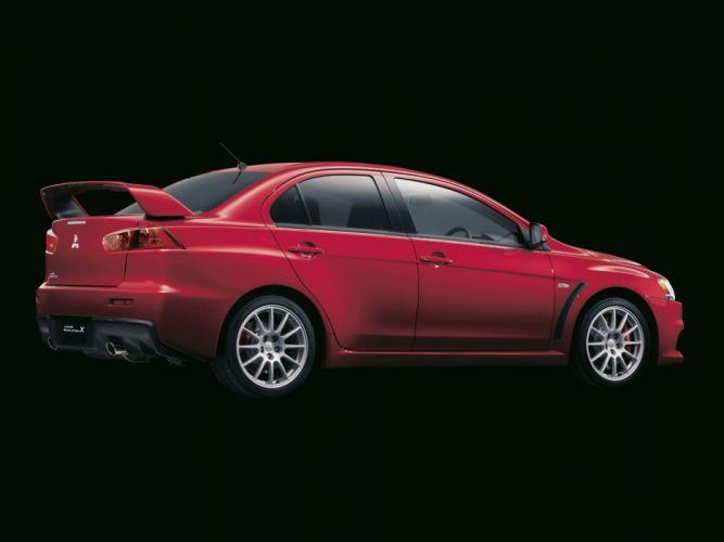 Mitsubishi Lancer evo-X cars 2008 wallpaper