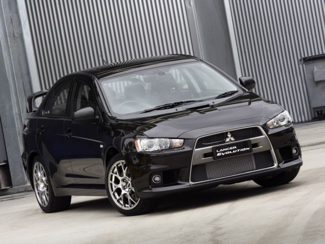 Mitsubishi Lancer evo-X cars 2008 wallpaper