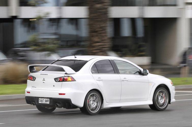 Mitsubishi Lancer evo-X AU-spec cars 2008 wallpaper