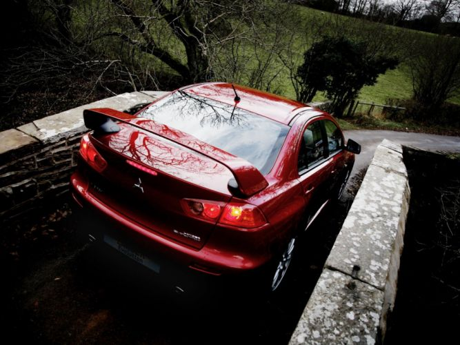 Mitsubishi Lancer evo-X EU-spec cars 2008 wallpaper
